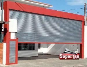 Porta de Aço com Portinhola São Caetano do Sul