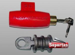Cadeados para porta de aço manual